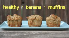 Loaded with almond, coconut, and whole wheat flour, these muffins are healthy as can be.