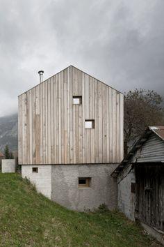 Unità residenziale al servizio dell'albergo diffuso / Paluzza Ceschia & Mantil Architetti Associati