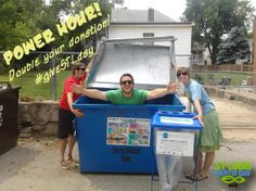 Special Announcements: 12-1pm is another POWER HOUR - Donate early to DOUBLE your contribution! And, we're hiring!  Read more: http://p0.vresp.com/VKgsyi  #givestlday #stl #earthday #greenjobs