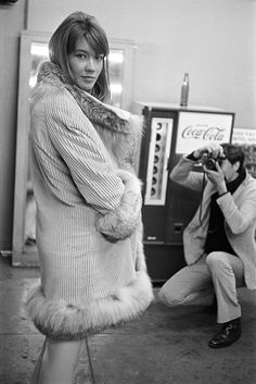 Original Street Style Star: Francoise Hardy - 1966: An Outfit-Making Coat from #InStyle