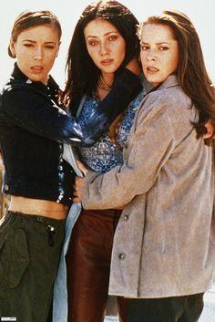 Charmed. Alyssa Milano. Holly Marie Combs. Shannon Doherty.