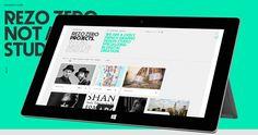 REZO ZERO / Sites of the Year 2013 / Awwwards