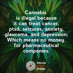 Why cannabis is illegal.