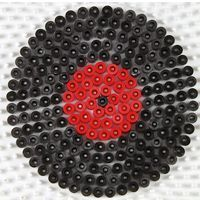 Des dessous de verre vinyles en perles à repasser   Dessous