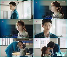 W two worlds. Jung Suk, Lee Jong Suk, Jung Yong Hwa, Lee Jung, W Korean Drama, Drama Korea, W Two Worlds Art, Drama Series, Tv Series