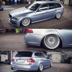 Wagon Cars, Bmw Wagon, E91 Touring, Station Wagon, Slammed, Old Cars, Cars And Motorcycles, Racing, Bike