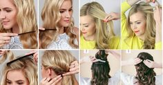 18 Cute Hairstyles You Can Do in Under 10 Minutes Cute Hairstyles, Bridesmaid Hairstyles, Hair Styles, Inspiration, Beauty, Fashion, Wavy Hairstyles, Amazing Hairstyles, Bridesmaid Hair