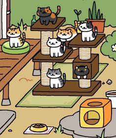 Fact: Neko Atsume (free, iOS and Android is *the* most epic cat app ever invented. | 19 Ridiculously Cute Gifts For Cat Collectors
