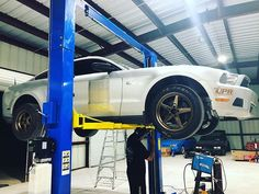 Checking things on Project Hurricane before we send her on the dyno later this week. Mafia, Mustang, Engineering, Racing, Projects, Instagram, Running, Log Projects, Mustangs