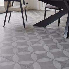 Sheet Vinyl That Looks Like Hexagonal Tile From Linoleum City - Sheet vinyl flooring 14 feet wide