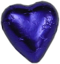 Purple chocolate hearts are creamy milk chocolate in purple foil. Add elegance to your special day with chocolate hearts for your wedding bonbonniere. Chocolate Hearts, All Things Purple, Food Safety, How To Make Chocolate, Shades Of Purple, Gourmet Recipes, Color Patterns, A Table, Favorite Color