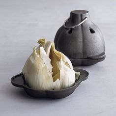 Cast Iron Garlic Roaster in Chef Gifts | Crate and Barrel