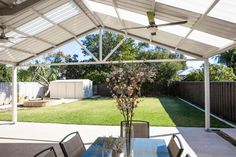 Gable Roof Patio