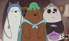Find images and videos about cartoon, cartoon network and we bare bears on We Heart It - the app to get lost in what you love. Ice Bear We Bare Bears, 3 Bears, Cute Bears, Cute Disney Wallpaper, Cute Cartoon Wallpapers, Pardo Panda Y Polar, Foto Cartoon, Cute Twitter Headers, We Bare Bears Wallpapers