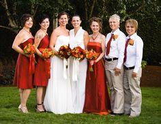 Lesbian bridesmaids