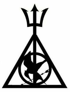 #tattoofriday HP, Percy, Hunger Games.