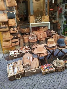 The Alentejo region of Portugal is one of the world's largest producers of cork.  The university town of Évora has shops and street stalls selling an amazing array of cork products...purses, hats, shoes, and decorative items.
