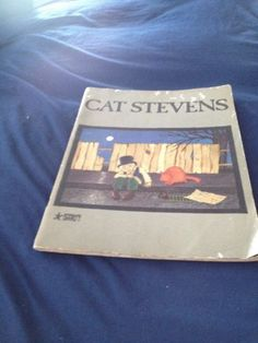 cat Stevens music book teaser and the firecat softcover