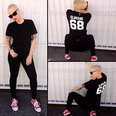 Amber Rose love her style