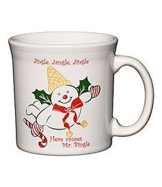 Fiesta Mr Bingle Java Mug #Dillards