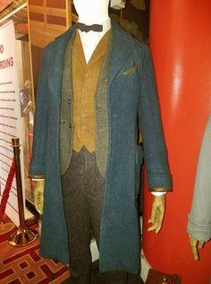 full suit coat costume cosplay newt scamander display coat fantastic beasts