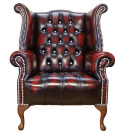 """I would sit here whenever I'm in my """"Once Upon A Time..."""" mode... Oxblood Leather"""