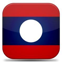 Bandeira Laos