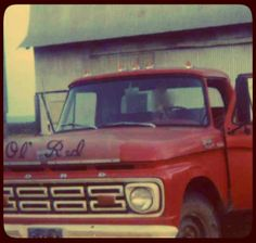 For All You Have Left. The Truck that Inspired Ol' Red. http://www.lauramillerbooks.com/1/post/2013/12/the-truck-that-inspired-ol-red.html