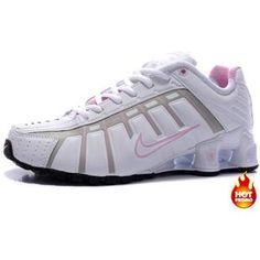 www.asneakers4u.com Womens Nike Shox NZ 3 OLeven White Pink Black