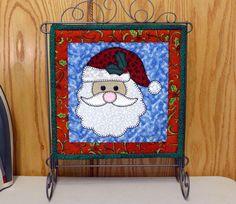 Santa mini quilt pattern