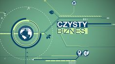 Czysty Biznes (Clean Business) TV Magazine Motion Graphics Aired on Superstacja TV