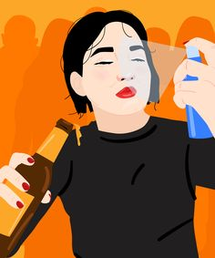 LOL @refinery29 |  The Embarrassing Beauty Habits We Always Do When We're Drunk