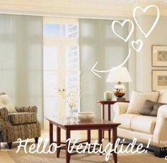 Vertiglide cellular shades are great for french doors and sliding glass doors. Great insulators.