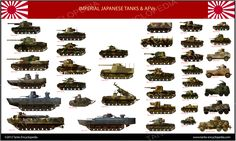 tanks posters - Imperial Japanese Army 1936-45