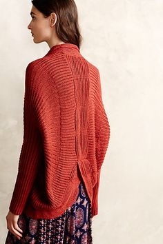 Scalloped Cocoon Cardigan - anthropologie.com I can't wait until fall!