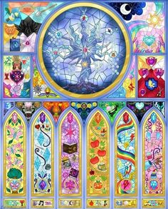 Friendship Is Magic Stained Glass by on DeviantArt Dessin My Little Pony, Old My Little Pony, My Little Pony Poster, My Little Pony Princess, My Little Pony Twilight, My Little Pony Comic, My Little Pony Party, My Lil Pony, My Little Pony Drawing