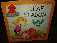 CLIFFORD'S PUPPY DAYS: LEAF SEASON BOOK BY SCHOLASTIC SOFTCOVER READ, GUC