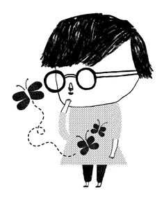 Illustrator, living in Madrid. Illustrator, Madrid, Minnie Mouse, Disney Characters, Fictional Characters, Folk, Snoopy, Butterfly, Woman