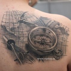 #These Nautical Tattoos Will Make You Want to Sail the Seven Seas ...