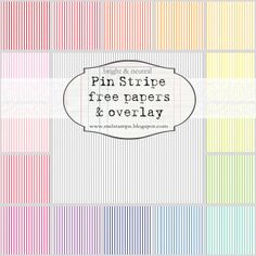 pin stripe, antique ledger, more chevron, vines by melstampz,