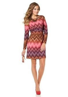 Jerseykleid von Jessica Simpson bei Universal Trends, Dresses With Sleeves, Long Sleeve, Sweaters, Fashion, Fashion Styles, Baggy Dresses, Moda, Sleeve Dresses