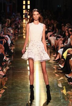 When It Comes to Runway Models, How Thin is Too Thin? The Debate Rages on at Fashion Week Australia http://www.thefashionspot.com/buzz-news/latest-news/393257-australian-fashion-editor-freaked-by-skeletal-runway-models-at-mbfwa/