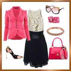 """""""Mixed Prints"""" by dazzlingemeraldplussizes on Polyvore"""