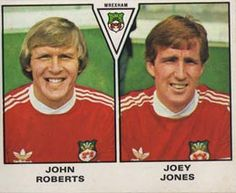 JOHN ROBERTS and JOEY JONES Wrexham (1980)