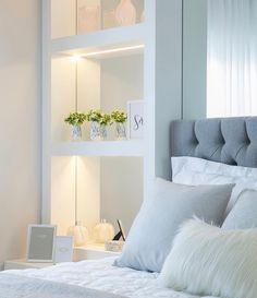 Home Designs - The Home Decor Trends Dream Bedroom, Home Bedroom, Room Decor Bedroom, Dream Rooms, Diy Room Decor, Bedroom Furniture, Bedroom Ideas, Bedroom Designs, Stylish Bedroom