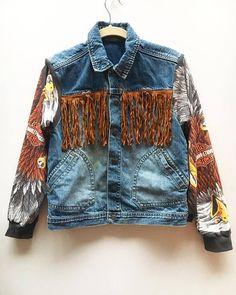 Bald Eagle Suede Tassel Jacket