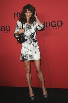 Helena Christensen Photos - Hugo Show - Mercedes-Benz Fashion Week Berlin Spring/Summer 2012 - Zimbio