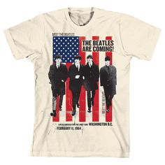 c7f3797b80444 Camiseta The Beatles Are Coming! Camisa Dos Beatles
