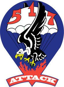 M.C. Graphic Decals - STICKER US ARMY UNIT 517th Parachute Infantry Regiment 1943 SHIELD, $3.00 (http://www.mcgraphicdecals.com/sticker-us-army-unit-517th-parachute-infantry-regiment-1943-shield/)