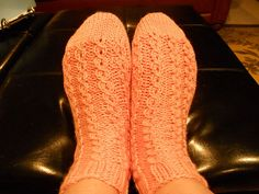 I created this sock pattern as a result of trying to learn to knit my first sock. It (literally) took a VILLAGE to help me knit my first sock.